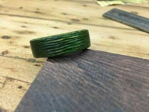 How-to-Make-a-Wood-Grain-Ring-with-a-Wire-Wheel-thecompleted-wood-grain-ring