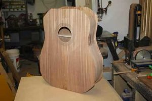 How-to-Make-an-Acoustic-Guitar-Series---Part-Thirteen---Attaching-the-Top-Plate-top-attached-to-the-body