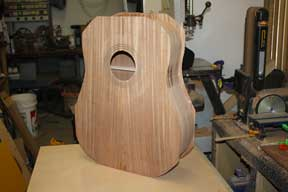 How-to-Make-an-Acoustic-Guitar-Series-Part-Fourteen-Trimming-the-Plate-Overhang-inspecting-the-plates