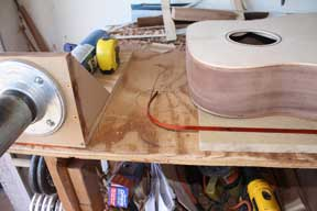 How-to-Make-an-Acoustic-Guitar-Series---Part-Seventeen---Bending-Binding-Strips-a-nice-looking-shoulder-bend