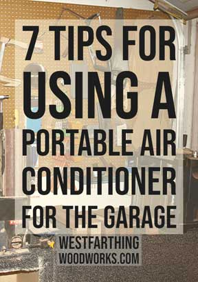 7 Tips for Using a Portable Air Conditioner for the Garage