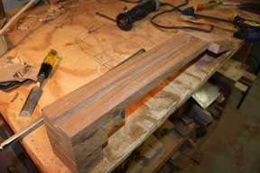 How-to-Make-an-Acoustic-Guitar-Series-Part-Twenty-Two-Truss-Rod-Install-completed-slot